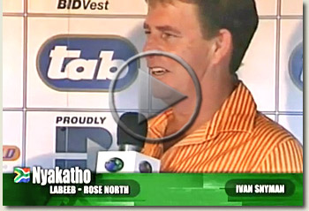 nyakatho ivan snyman vaal racecourse 29 october 2009 video
