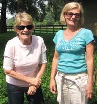Sally Oakes and Veronica Jackson-Smith