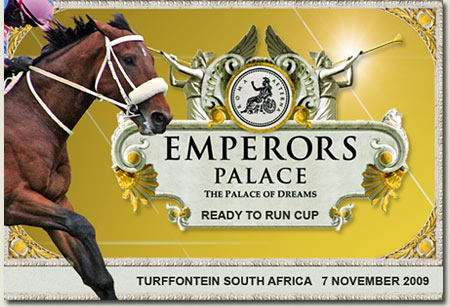 smanjemanje r1,5 million emperors palace ready to run cup candidate