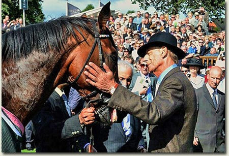 Sir Henry Cecil and Frankel