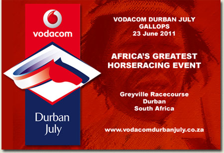 Vodacom Durban July Gallops