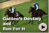 Galileo's Destiny and Run For It - Vodacom Durban July Gallops