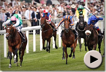Frankel wins St James's Palace Stakes
