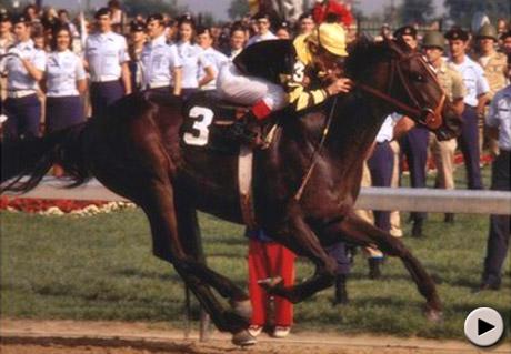 Seattle Slew wins 1977 Kentucky Derby