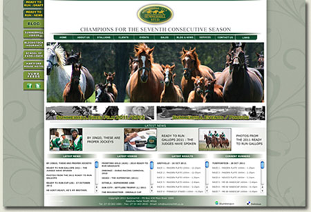 Summerhill Stud Website