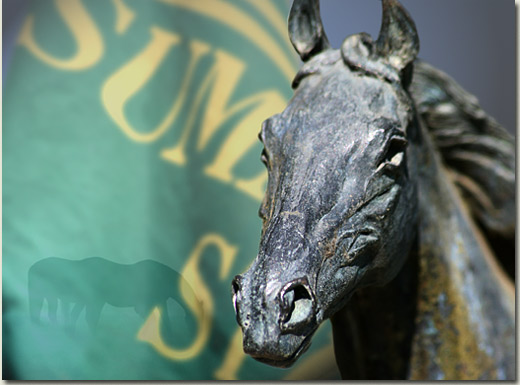 summerhill stallion statue