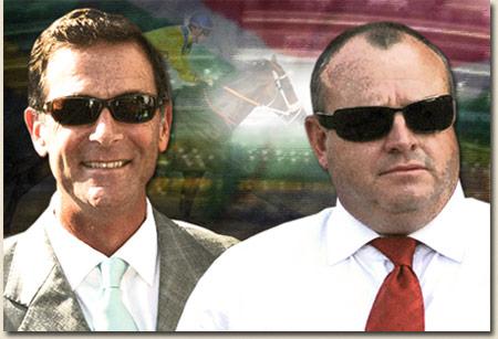 Herman Brown Jnr and Mike de Kock