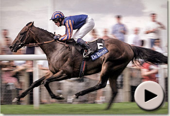 Montjeu wins the 2000 King George VI and Queen Elizabeth Diamond Stakes