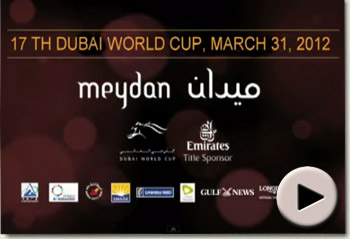 2012 Dubai World Cup Promo