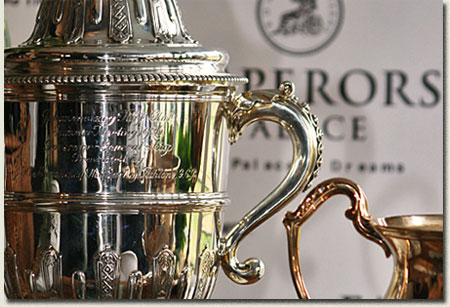 emperors palace ready to run cup trophy