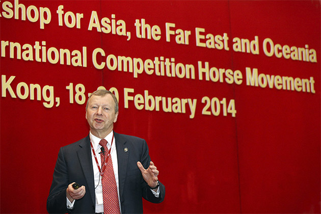 Winfried Engelbrecht-Bresges - Hong Kong Horse Movement Summit