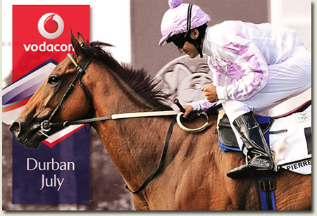 Pierre Jourdan - Vodacom Durban July runner
