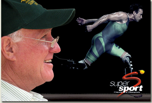 mick goss and oscar pistorius on supersport