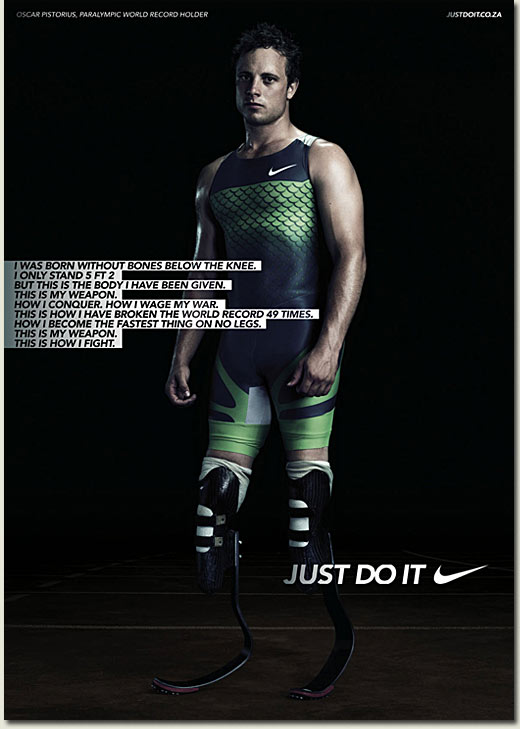 oscar pistorius sponsored by nike