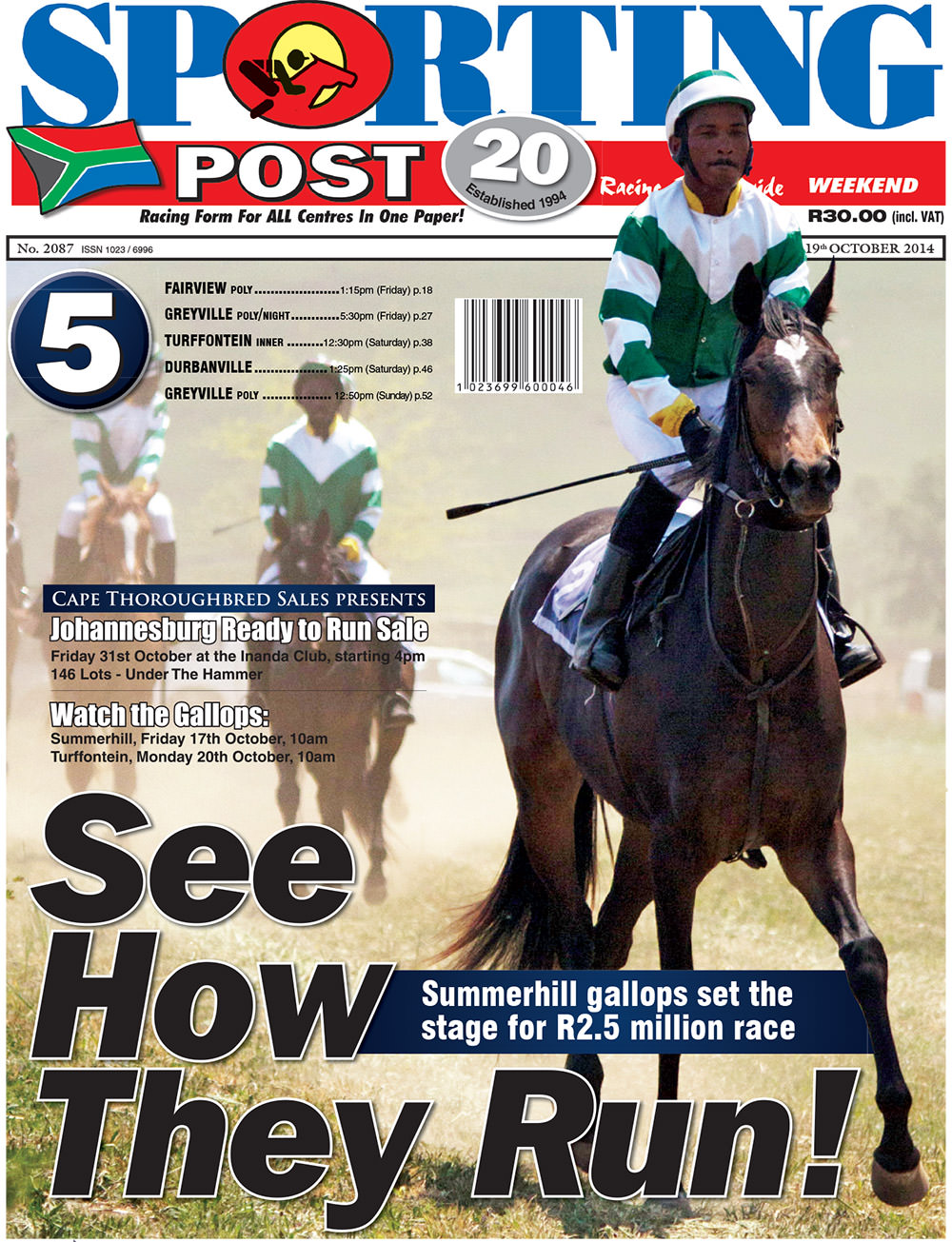 Sporting Post - Johannesburg Ready To Run Sale 2014