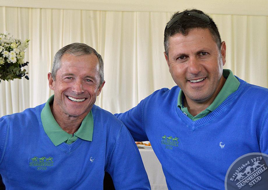 Felix Coetzee and Sean Tarry