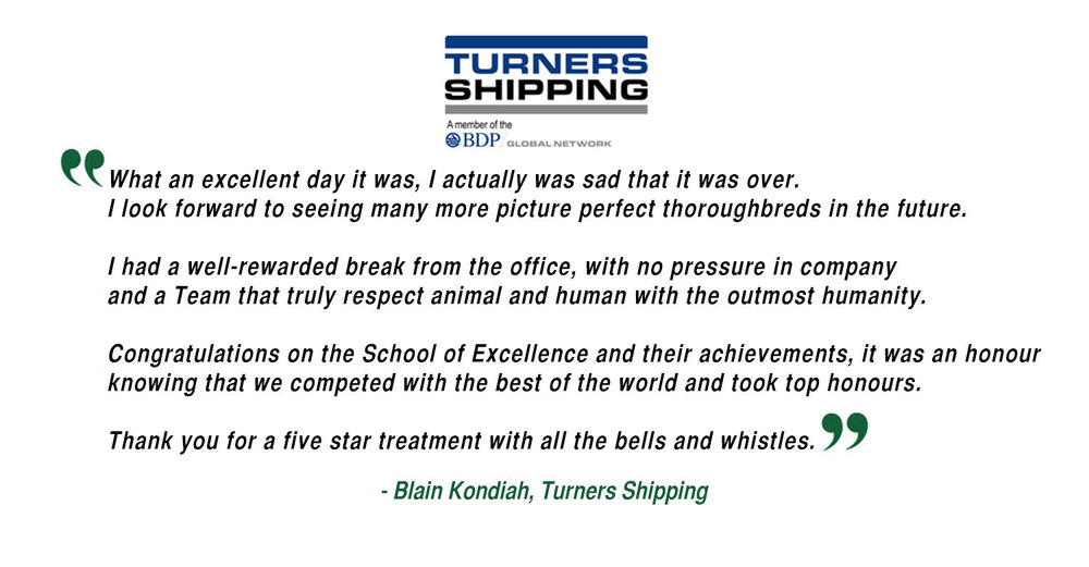 Blain Kondiah - Turners Shipping
