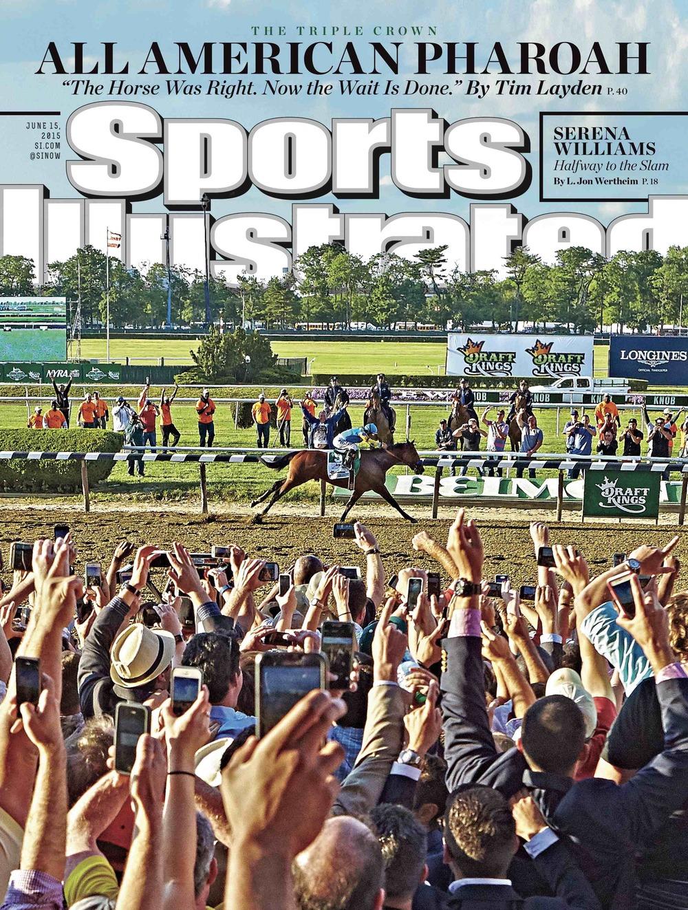 American Pharoah / Sports Illustrated (p)