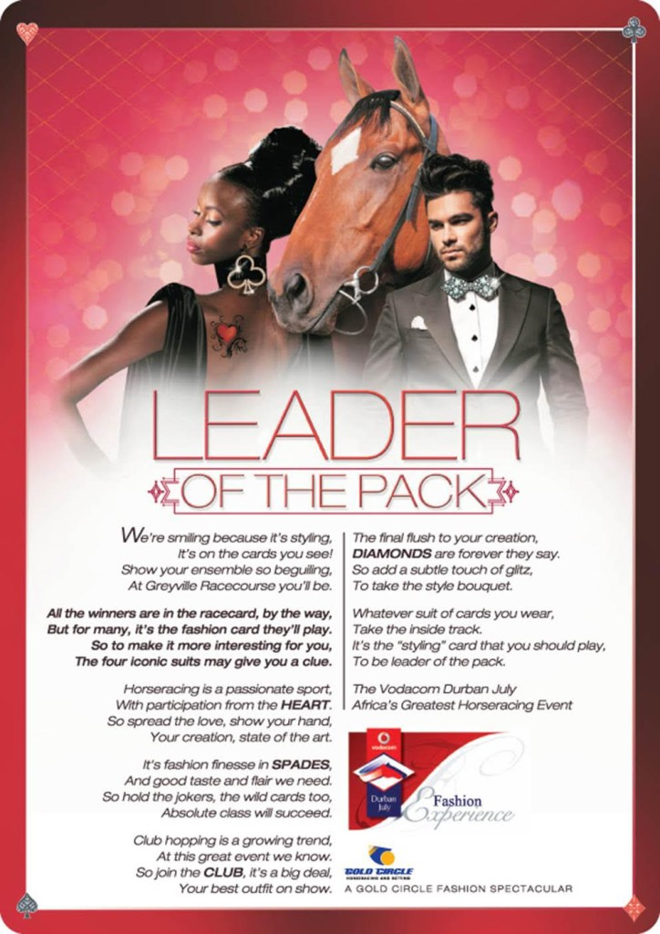 2016 Vodacom Durban July Theme