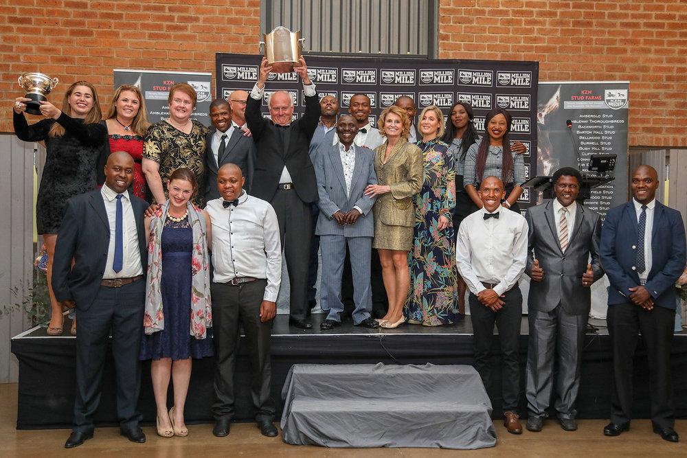 Team Summerhill at the KZN Breeders Awards