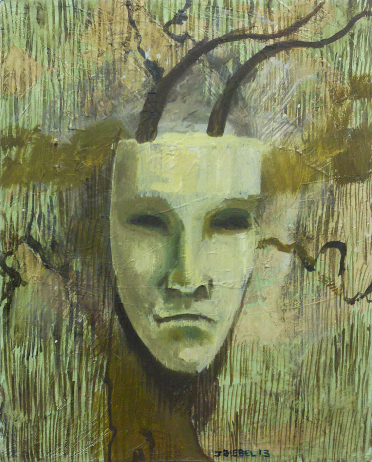 Spring Mask Series (Number 1)