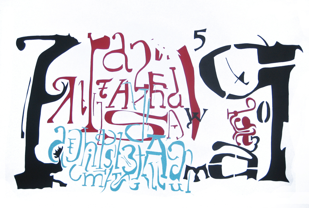 Calligraphy Landscape