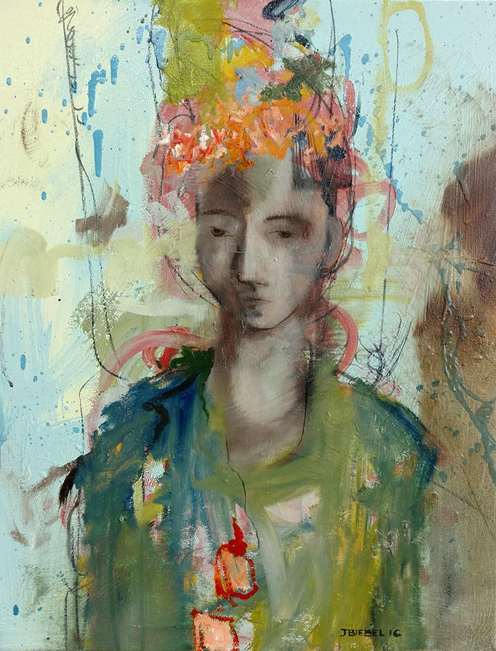 Imaginary Portrait: Boy with Crown