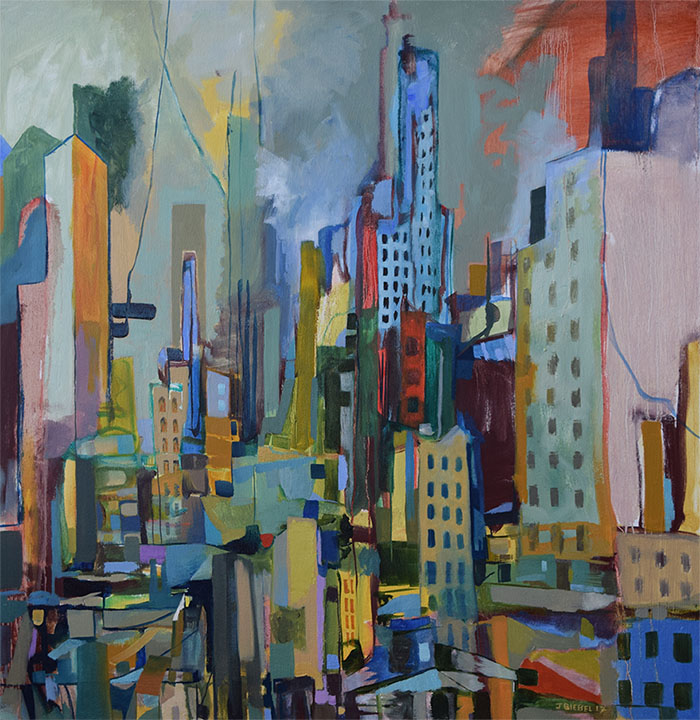 Cityscape Before Rain (Version I)