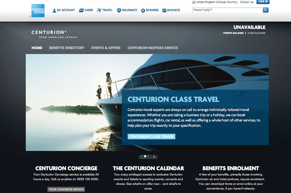 American Express > Centurion/Platinum Global — Dan Kawasaki