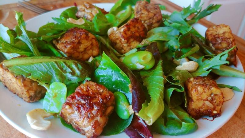 Seared Tempeh Salad