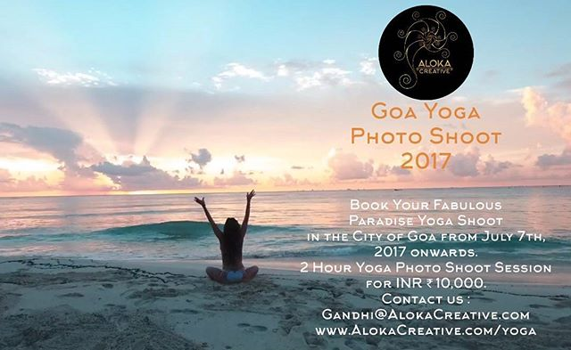 Special Yoga Shoot in Goa, India. Get your Yoga Photo shoot for just ₹10,000 (10,000 Rupees) in Goa from July 7th onwards.  DM to book your session. 🌐AlokaCreative.com/yoga 📬Gandhi@AlokaCreative.com . . . . #alokacreative #canonphotography #photography #yogaeverydamnday #yogadaily #yogaposes #yogaphotography #yogaphotoshoot #professionalphotos #nikonphotography #vancity #vancouver #bali #india_everyday #indianphotography #balilife #yogapractice #Goa #special #amazingdeal
