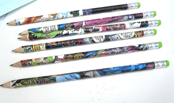 Recycled comic covered #2: http://etsy.me/1nXeB83