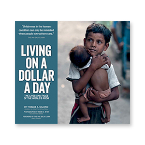"BOOK  ""Living on a Dollar a Day"" photographed by Renée Byer"