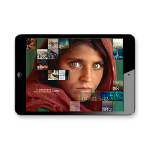 "APP    ""50 Greatest Photographs of  National Geographic "" iPad app"
