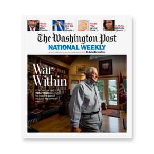 NEWSPAPER     The Washington Post National Weekly