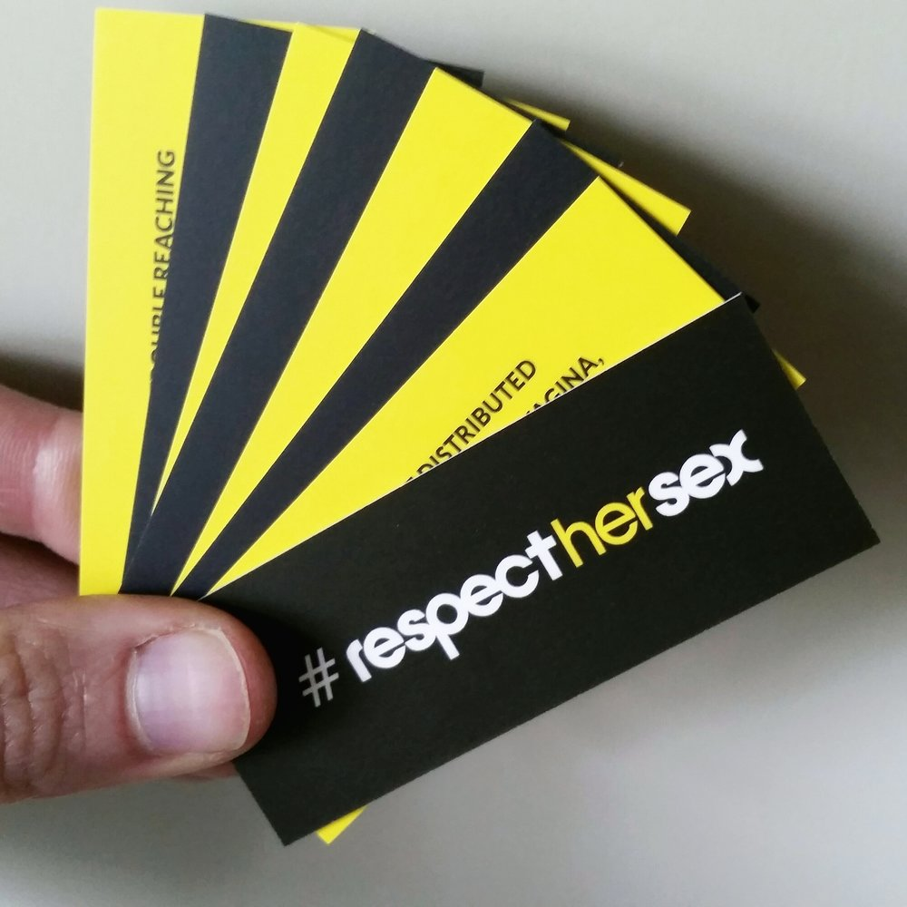 IN THE FOLD, a #RespectHerSex project. Fact Cards ©2016 THE FEMME PROJECT