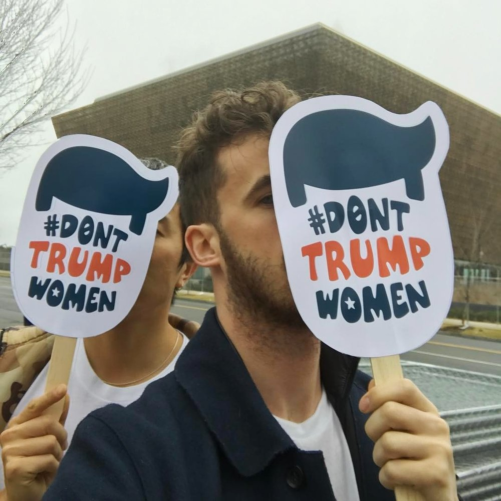 #DontTrumpWomen   Women's March on Washington. Washington, DC ©2017 The Femme Project