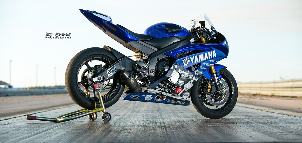 Race prepped Yamaha YZF-R6