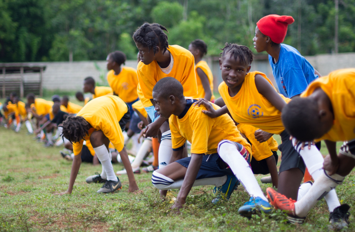 Local coaches along with the co presidents of Protect the Children's Future Corps. and parishioners of Holy Trinity Catholic Church in Washington, D.C. teamed up to run a one-week soccer camp for middle school boys and girls. Members of the village swarmed the fields every day to cheer on the children and had the opportunity to take English classes inside some nearby classrooms. The children were beyond grateful for their experience and will undoubtedly become future leaders of their communities.