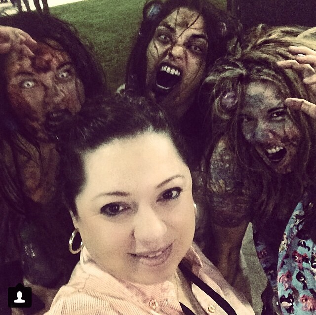Another awesome person who took our photo. Zombie selfies were all the rage.