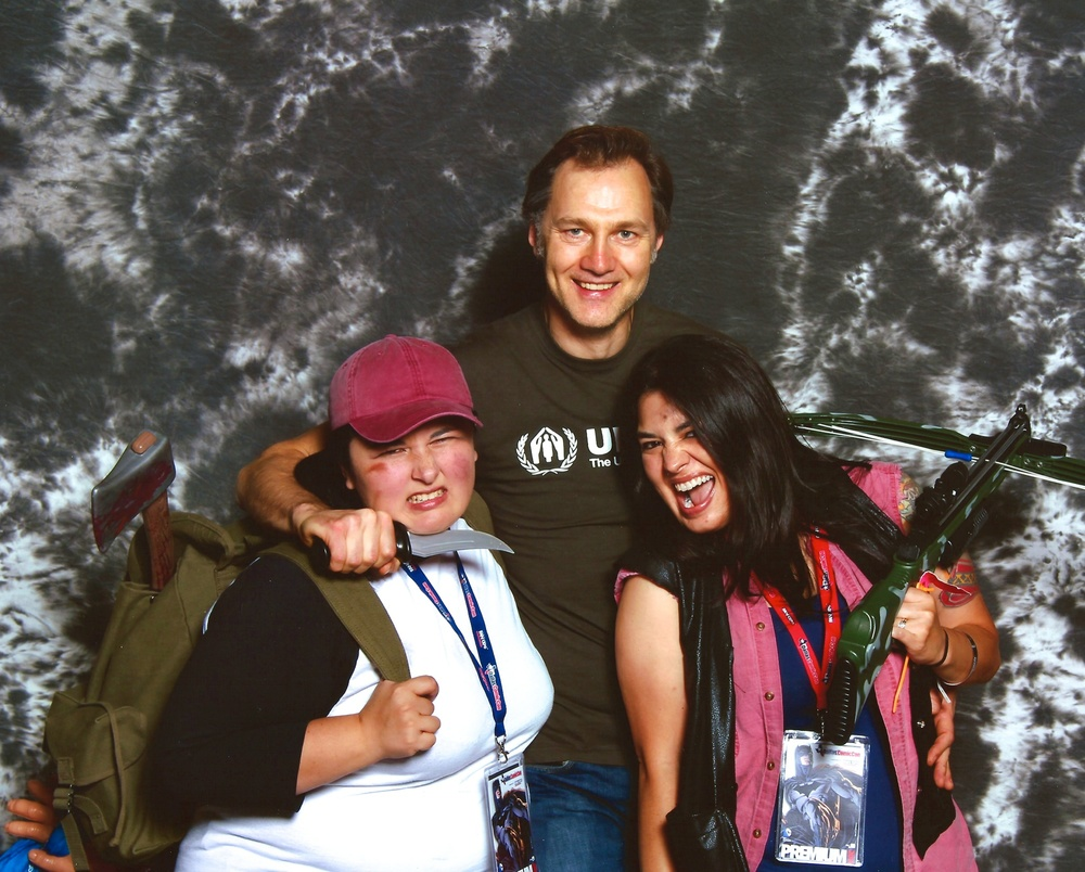 David Morrissey is the sweetest man to ever hold us at knifepoint.