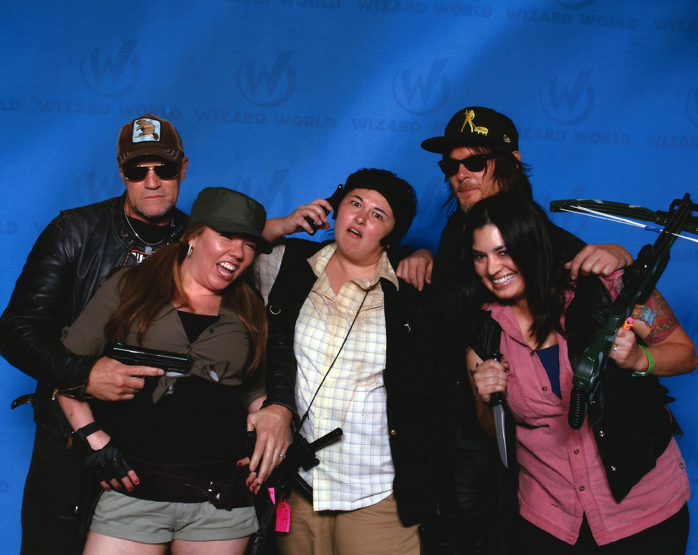 Finally got our Dixon brothers photo opp after missing out on it at every other con.