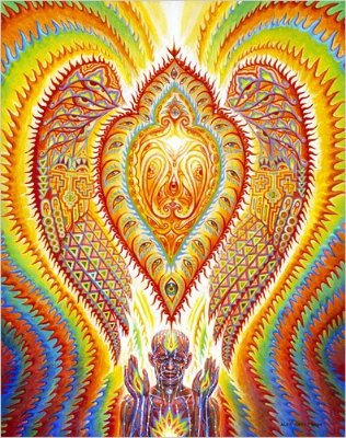 Sacred Seraphic - Alex Grey