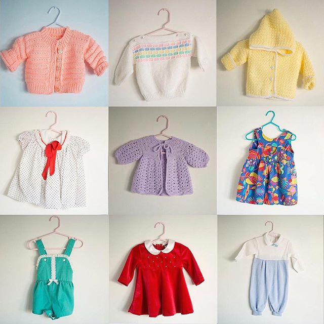 I'm going to be vending next weekend at the @torontovintageclothingshow. This time I'm adding baby and kids clothes to be booth! Will be fun! Who's coming?