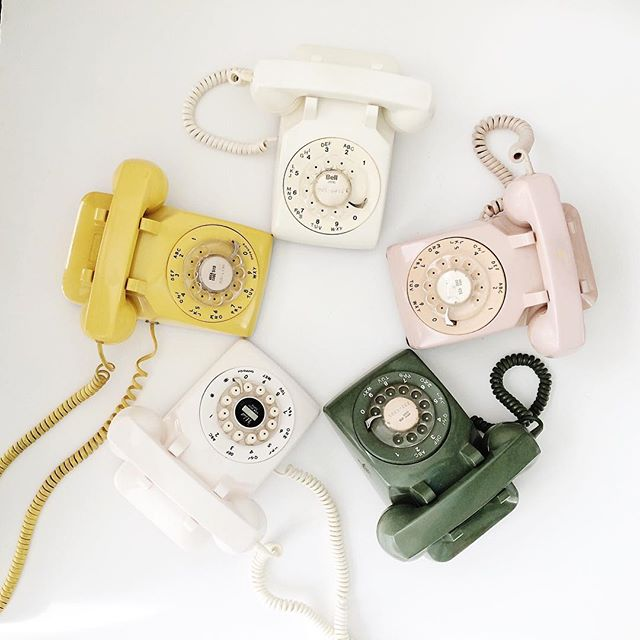 Who needs a rotary phone?