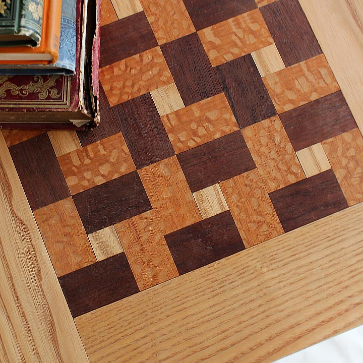Arts and Crafts Quilt Top End Table