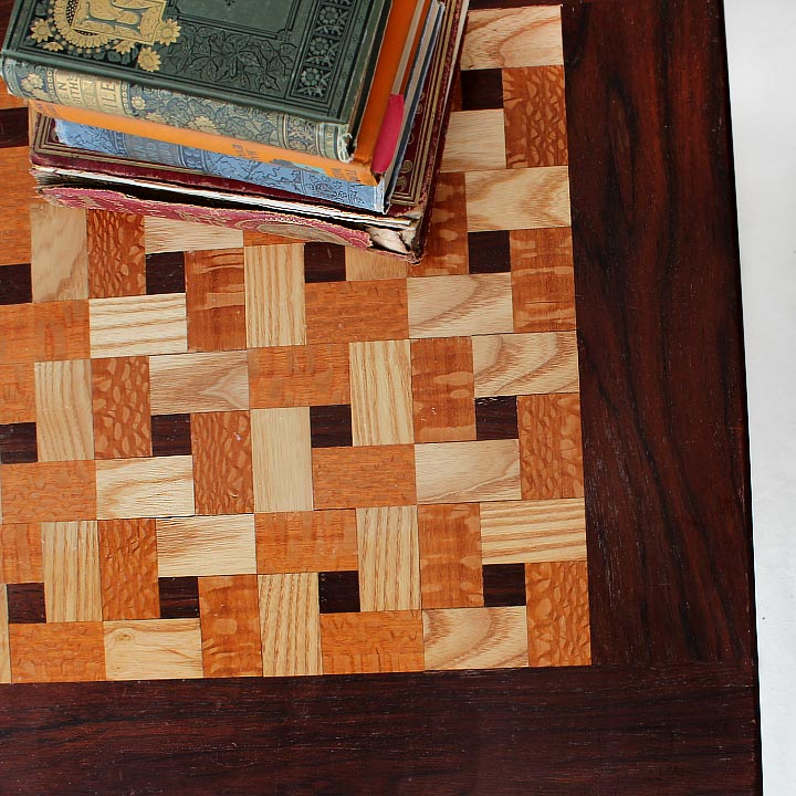 Arts and Crafts Quilt Top Coffee Table