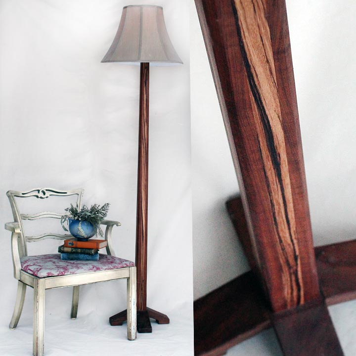 Slim Tapered Floor Lamp