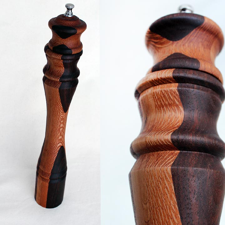 Turned Pepper Mill