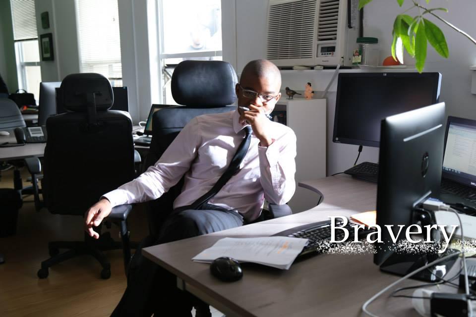 Romuald Hivert in Bravery2.jpg